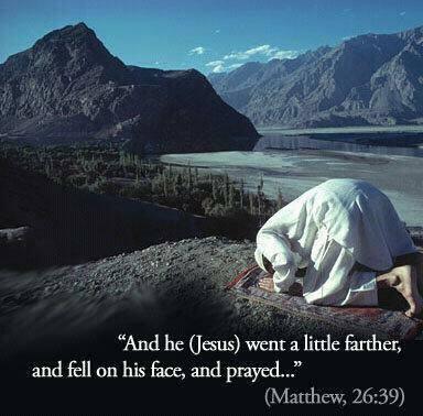 jesus prostration